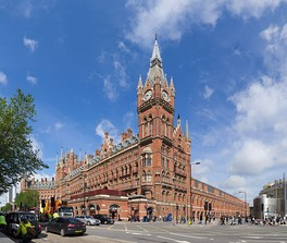 London St Pancras International is the UK's 13th busiest railway terminus. The station is one of London's main domestic and international transport hubs providing both commuter rail and high speed rail services across the UK and to Paris, Lille and Brussels