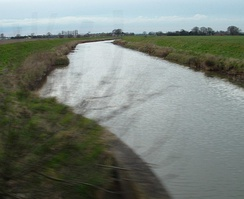 The Wainfleet relief channel in 2007