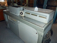 Dehomag (German IBM subsidiary) D11 tabulating machine, used by Germany in implementing the Jewish Holocaust