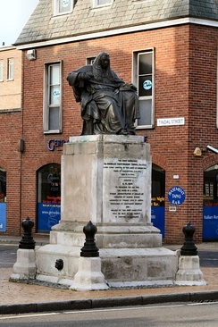 Statue of Sir Nicholas Conyngham Tindal, Tindal Square Chelmsford.