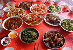 Common dishes served in Hainan