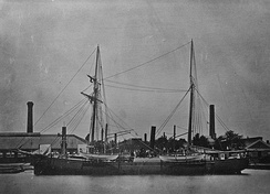 USS Polaris in 1871