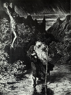 The Wandering Jew  by Gustave Doré.