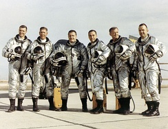 X-15 pilots (Dana: far right)