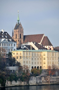The University of Basel, where Friedrich Nietzsche became a professor in 1869