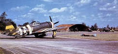 Republic P-47D-15-RE Thunderbolt Serial 42-75855 of the 5th Emergency Rescue Squadron at Boxted.