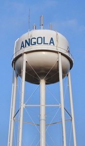 Angola's water tower.