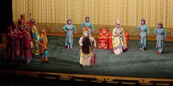 A scene from a Peking opera