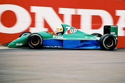 The race marked the debut of the Jordan team in F1. Bertrand Gachot was classified tenth after a late-race engine failure prevented him from finishing.