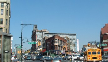 The Hub is the retail heart of the South Bronx, New York City. Between 1900 and 1930, the number of Bronx residents increased from 201,000 to 1,265,000.[6]