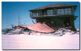 Damage from Hurricane Opal