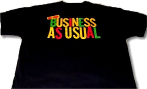 Promotional EPMD T-shirt for its 1990 Business as Usual album