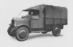 Guy's first military vehicle produced in 1923