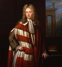 Tory minister and Jacobite Lord Bolingbroke; driven into exile in 1715 and pardoned in 1720