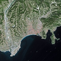 Nice seen from Spot Satellite