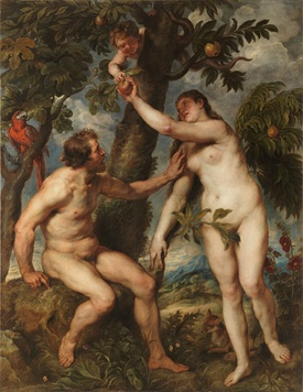 The Fall of Man by Peter Paul Rubens, 1628-29
