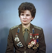 Valentina Tereshkova, first woman in space (1963)