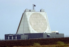 Solid State Phased Array Radar (SSPAR) at RAF Fylingdales, England