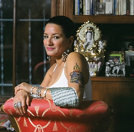 Sandra Cisneros best known for her first novel The House on Mango Street (1984) and her subsequent short story collection Woman Hollering Creek and Other Stories (1991). She is the recipient of numerous awards including a National Endowment for the Arts Fellowship, and is regarded as a key figure in Chicana literature.[35]