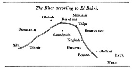 The Western Nile according to al-Bakri (1068)