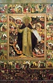 «Сергий Радонежский с житием», середина XVII века