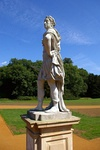 Statue of William III 30m north of the Archer Pavilion