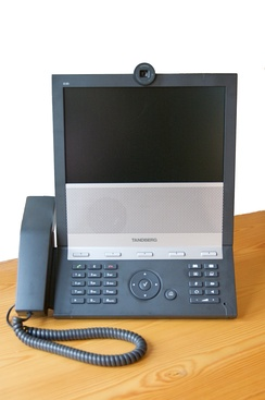 "The Tandberg E20 is an example of a SIP-only device. Such devices need to route calls through a Video Communication Server to be able to reach H.323 systems, a process known as ""interworking"" (2009)."