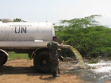 Dumping of sewage or fecal sludge from a UN camp into a lake in the surroundings of Port-au-Prince is thought to have contributed to the spread of cholera after the Haiti earthquake in 2010, killing thousands.