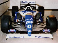 Williams FW16B used in the second half of the 1994 season when Rothmans debuted as the team's primary backer