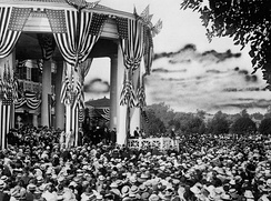 Wilson accepts the Democratic Party nomination, 1916