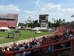 Farewell to the Orange Bowl event on January 26, 2008