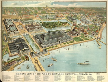 Bird's Eye View, 1893