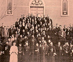 The first All-American Sobor was held March 5–7, 1907