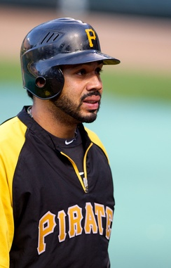 Álvarez with the Pittsburgh Pirates in 2012