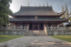 The Temple of Confucius in Jiading, now a suburb of Shanghai. The Jiading Temple of Confucius now operates a museum devoted to the imperial exam formerly administered at the temples.