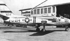 North American F-86A Sabre, at Griffiss AFB, New York, 1950