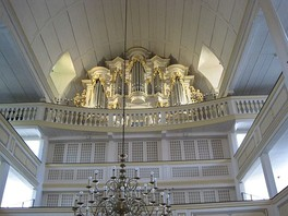 The Wender organ Bach played in Arnstadt