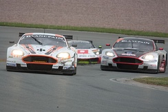 Aston Martin were represented in the championship by Young Driver AMR and Hexis AMR teams