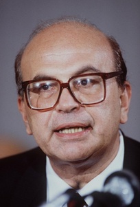 Bettino Craxi, first Socialist Prime Minister from 1983 to 1987