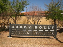 The Buddy Holly Center, a museum in Lubbock, Texas