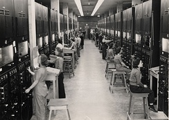 Calutron operators at the Y-12 Plant in Oak Ridge during the Manhattan Project