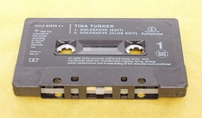 "Tina Turner's ""Goldeneye"" as a cassette single."