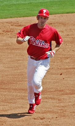 Phillies All-Star Chase Utley made his pro debut in Batavia during the 2000 season.