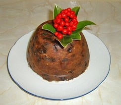 Christmas pudding cooked on Stir-up Sunday, the Sunday before the beginning of the Advent season