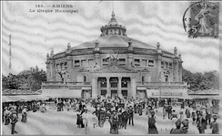 The municipal circus of Amiens in 1912, on the festival of Saint Jean.