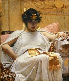 Cleopatra by John William Waterhouse (1888)