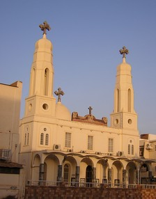 Holy Virgin Mary Coptic Orthodox Cathedral in Khartoum.