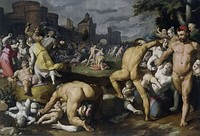 Cornelis van Haarlem, Massacre of the Innocents, 1590, Rijksmuseum