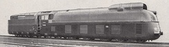 DRG Class 05 locomotive of the type that held the world top speed record 1936-1938