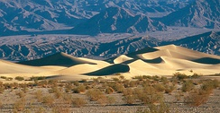 Death Valley, in the Mojave Desert